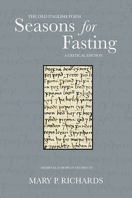 Seasons for Fasting
