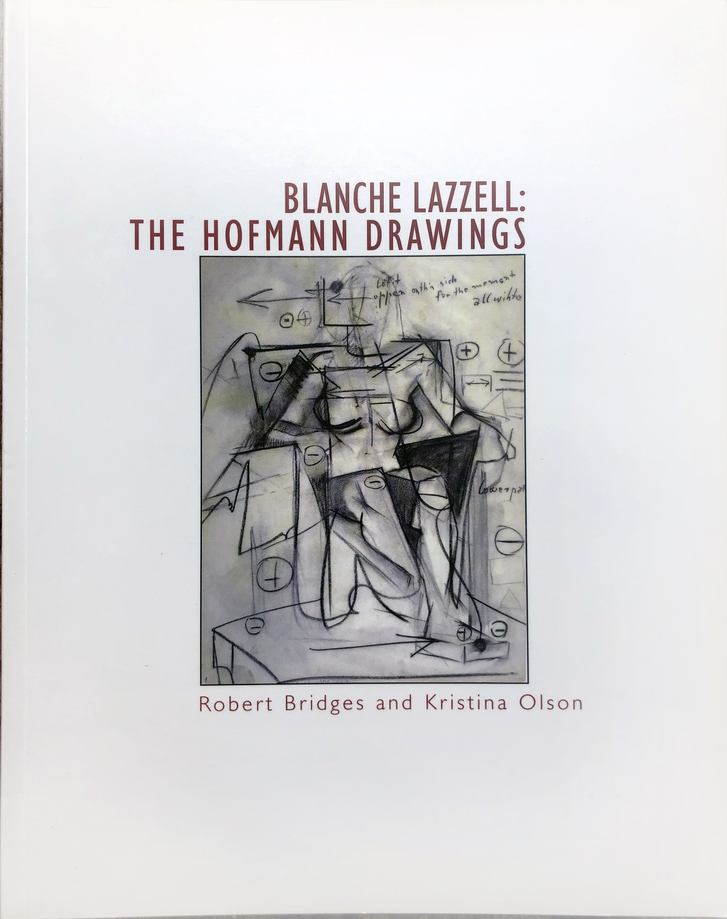 Blanche Lazzell: The Hofmann Drawings catalogue cover